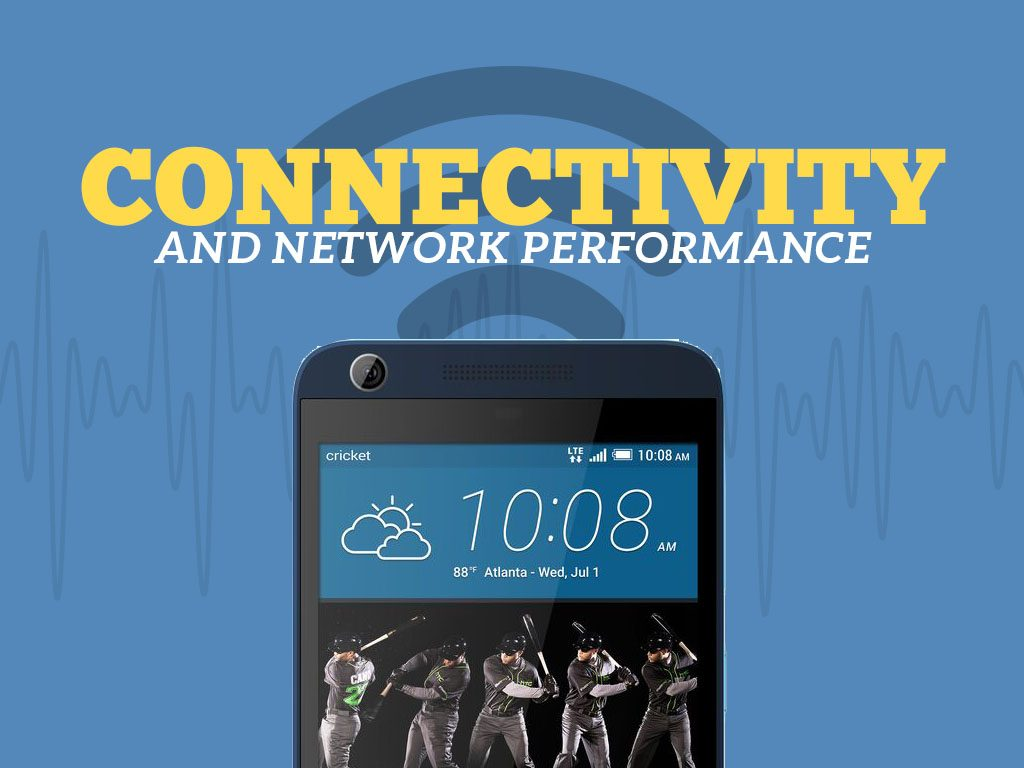 Great Phones We Unlock_HTC Desire 626s: Connectivity and Network Performance