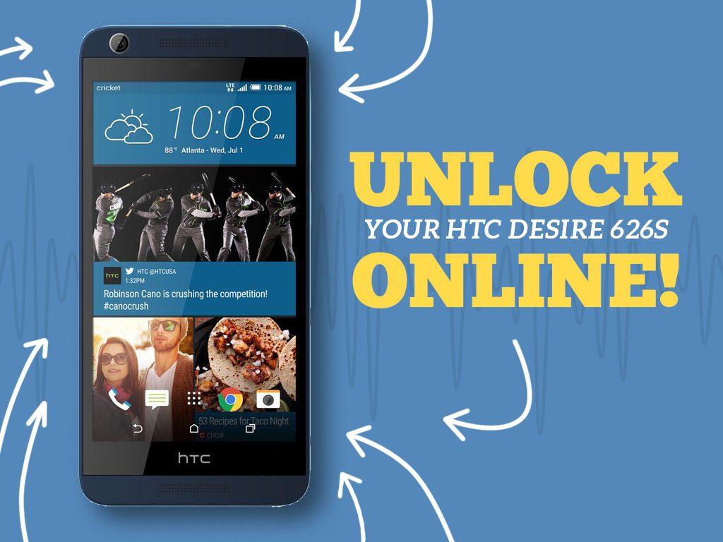 Great Phones We Unlock_HTC Desire 626s: Cover Photo