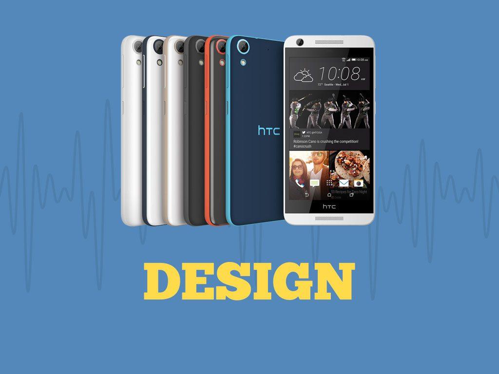 Great Phones We Unlock_HTC Desire 626s: Design
