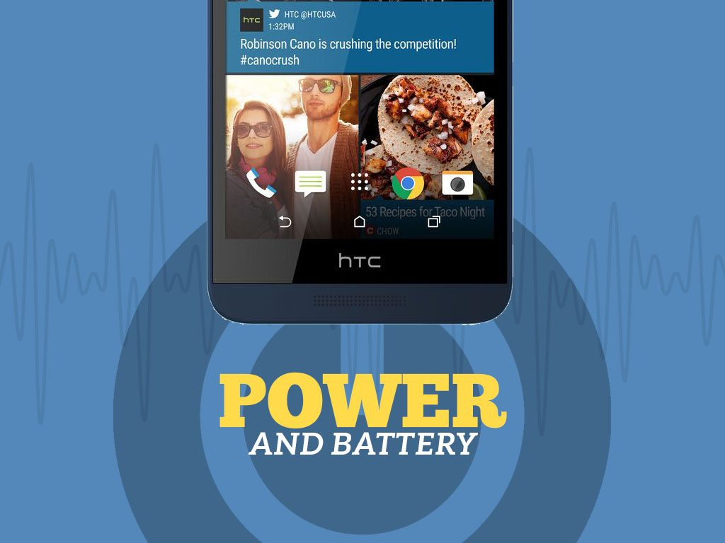 Great Phones We Unlock_HTC Desire 626s: Power and Battery