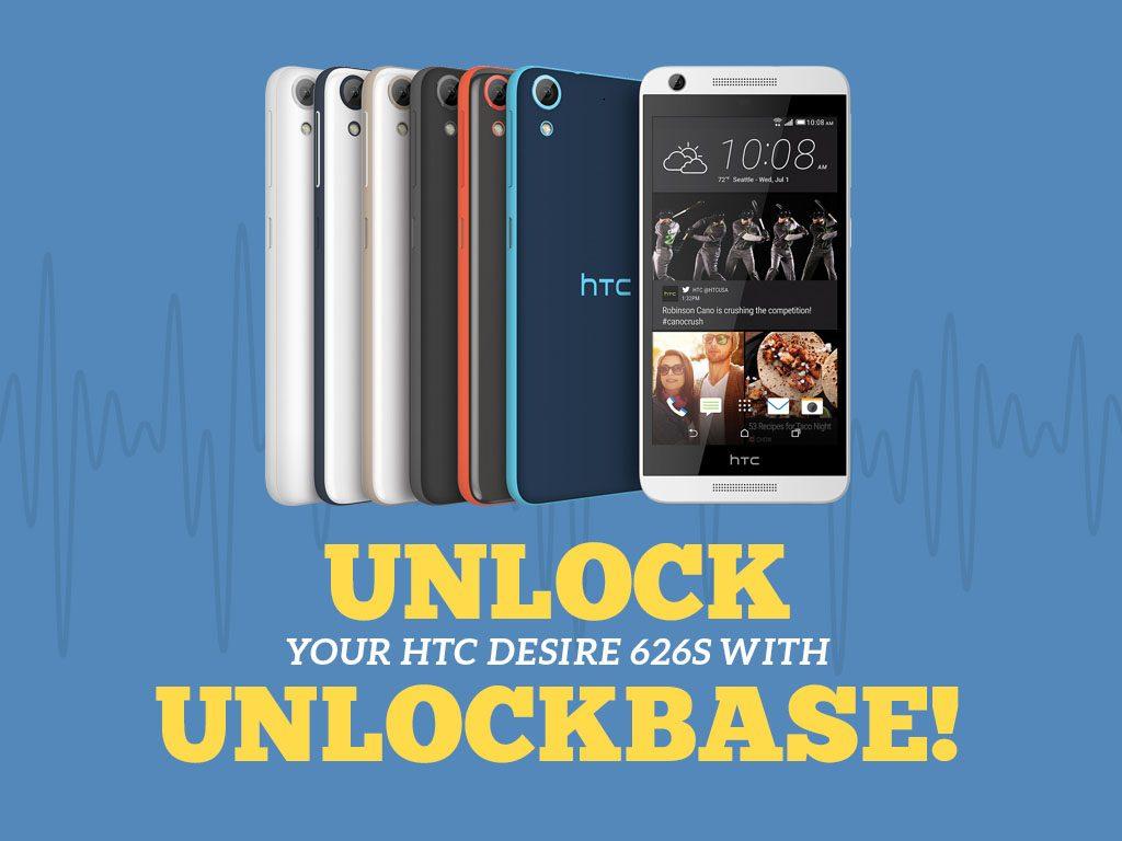 Great Phones We Unlock_HTC Desire 626s: Unlock With UnlockBase