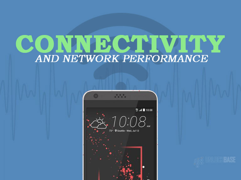 HTC Desire 530: Connectivity and Network Performance