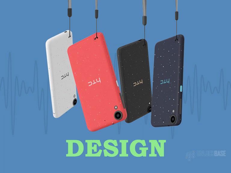 HTC Desire 530: Design