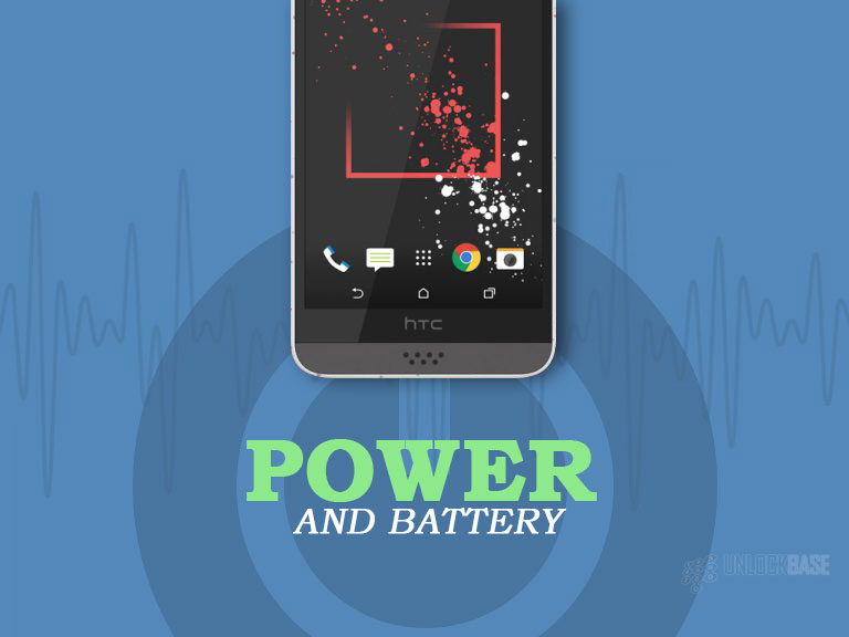HTC Desire 530: Power and Battery