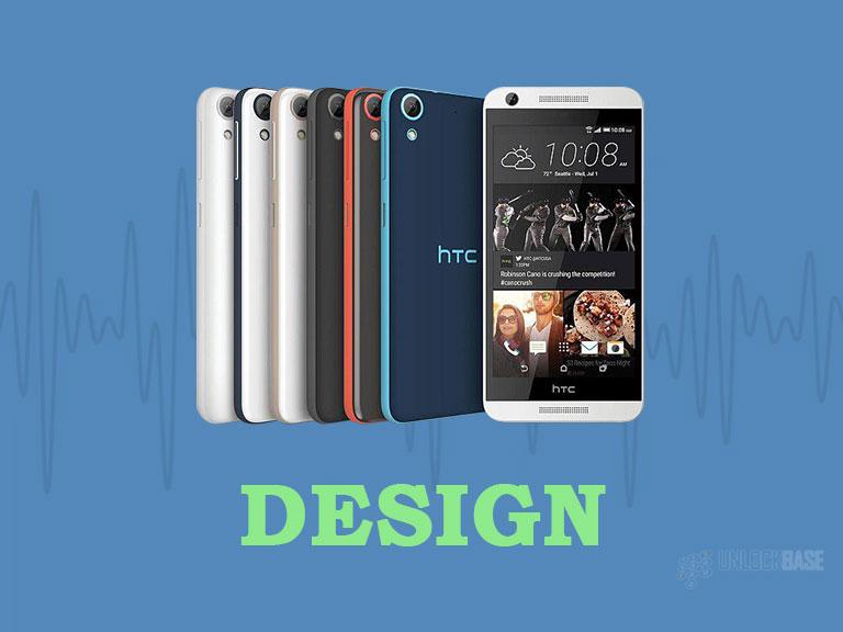 HTC Desire 626s: Design