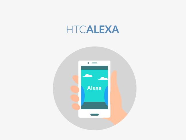 HTC U11 Life: Alexa App
