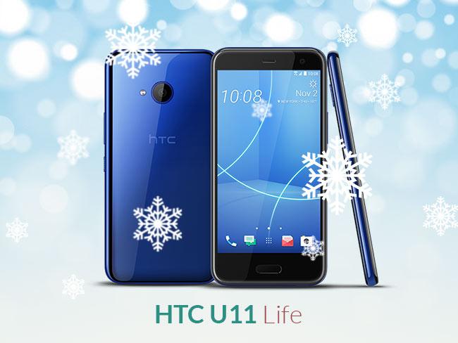 Budget/ Mid Range Phone: HTC U11 Life ($350)