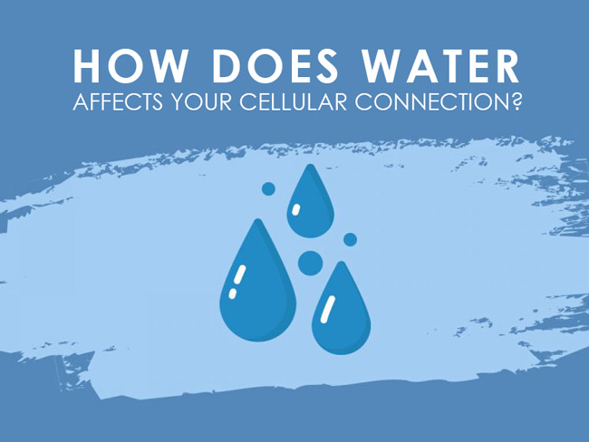 How Water Affects Your Cellular Connection?