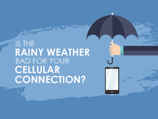 How Does the Weather Affect Cellular Connection?