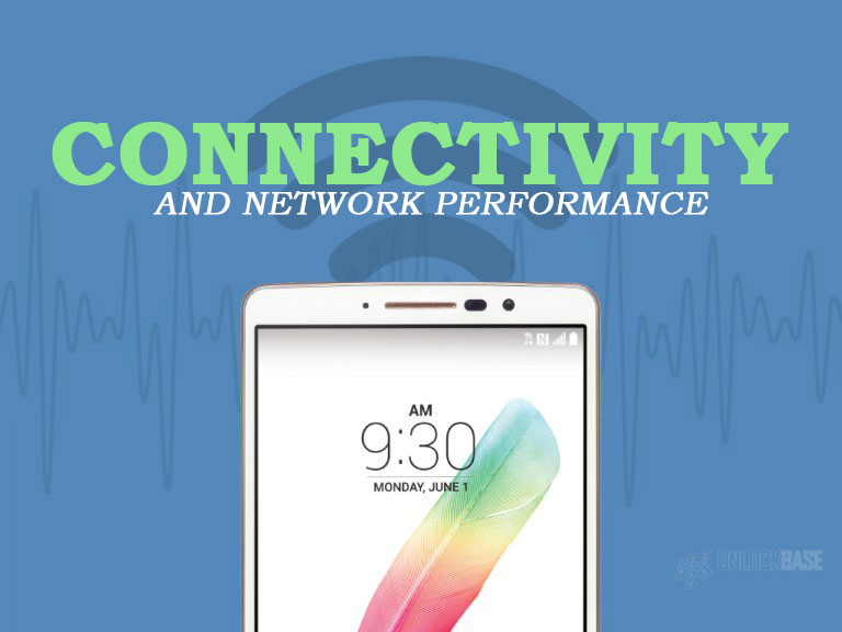 LG G Stylo: Connectivity and Network Performance