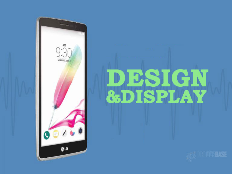 LG G Stylo: Design and Display