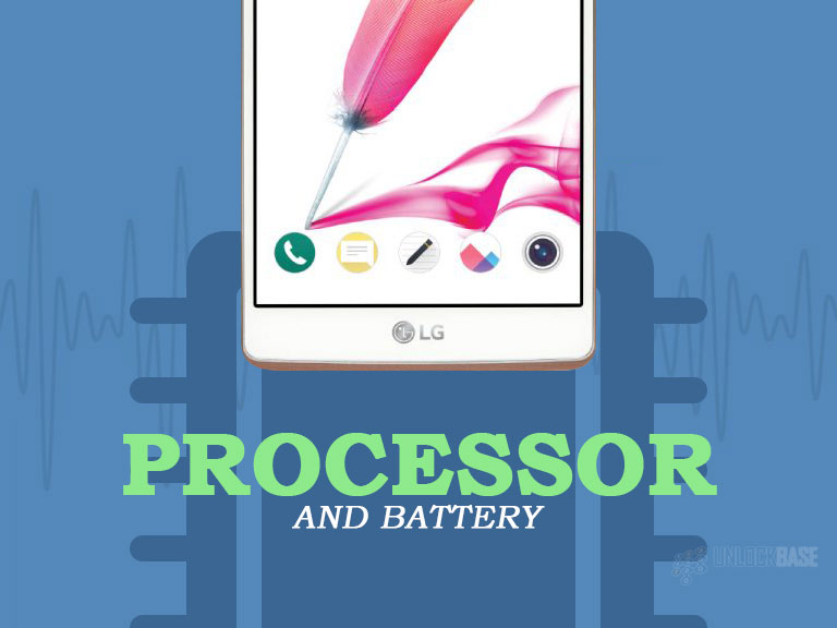 LG G Stylo: Processor and Battery