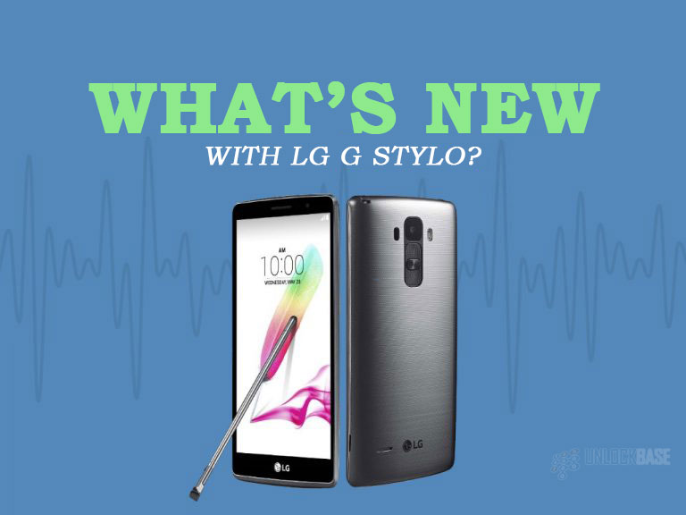 LG G Stylo: What's New?