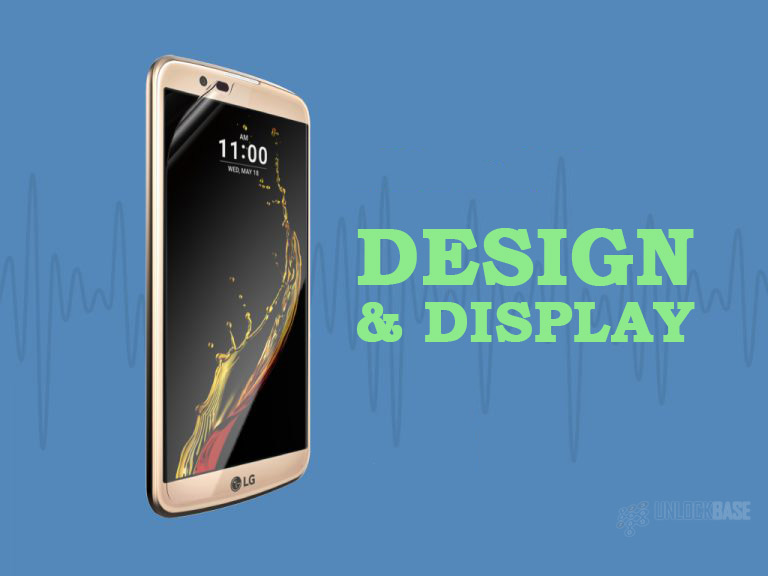 LG K10: Design and Display