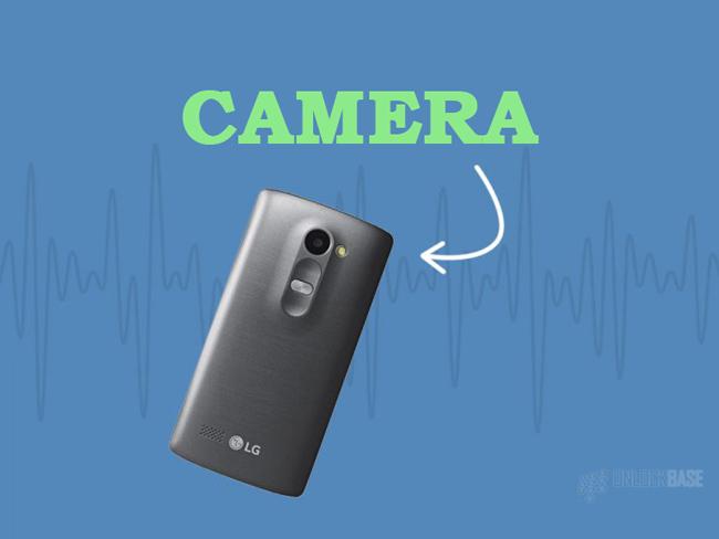 LG Leon 4G LTE MS345 : Camera