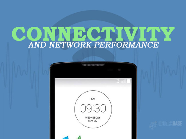 LG Leon 4G LTE MS345 : Connectivity and Network Performance