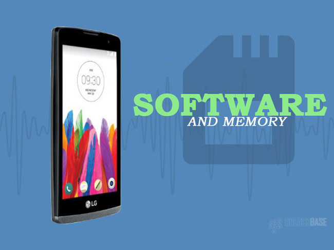 LG Leon 4G LTE MS345 : Software and Memory