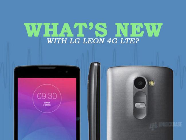 LG Leon 4G LTE MS345 : What's New with LG Leon 4G LTE