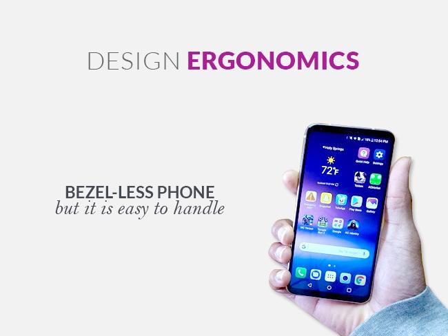 LG V30 Bezel-less Phone