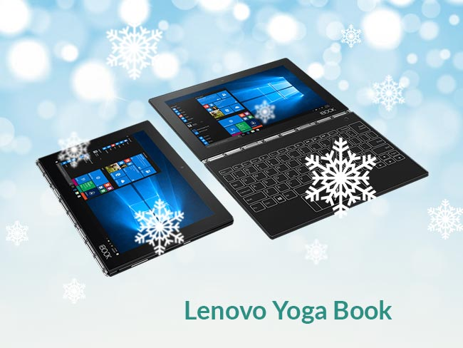 Most Versatile Laptop: Lenovo Yoga Book ($270- $300)