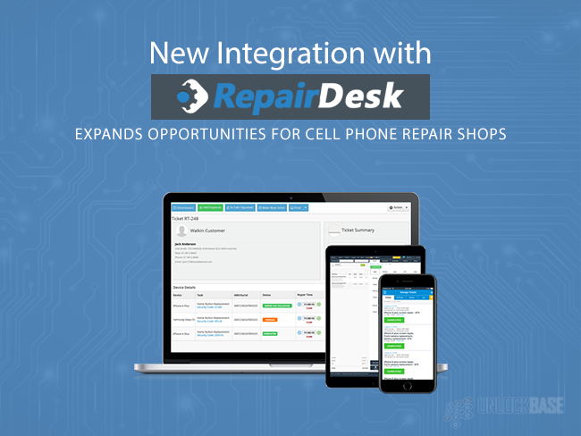 New Integration with RepairDesk Expands Opportunities for Cell Phone Repair Shops
