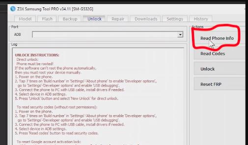 How to Unlock Samsung Galaxy J2 Prime (SM-G532G) Using Z3X