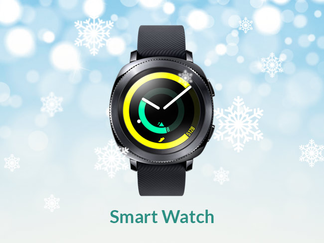Smart Watch: Samsung Gear Sport ($300)