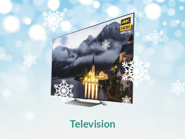 Television: Sony XBR-X900E ($1498)