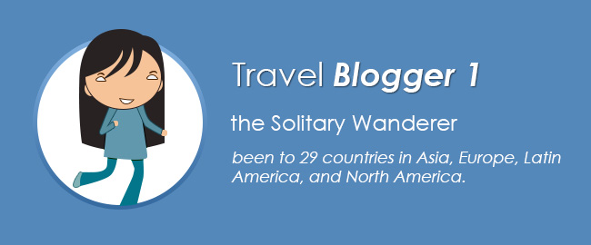 Travel Blogger 1: The Solitary Wanderer