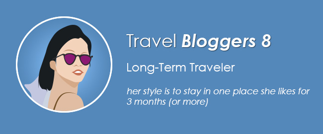Travel Blogger 8: Long-Term Traveler