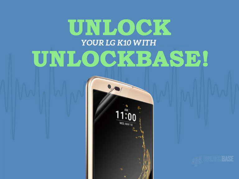 Unlock LG K10 with UnlockBase