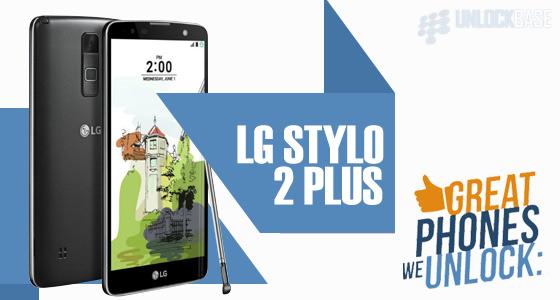 Unlock LG Stylo 2 Plus