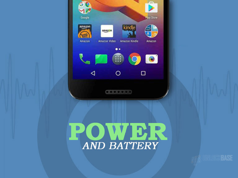 Unlocking Alcatel A30 FIERCE: Power and Battery