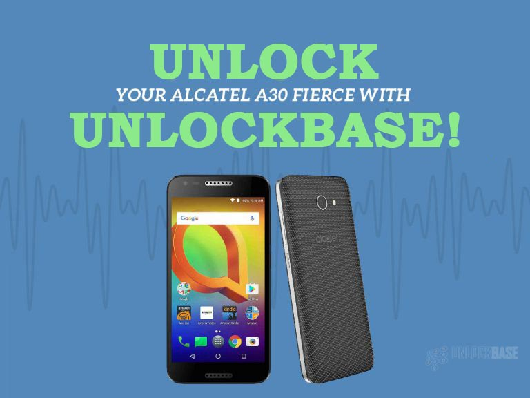 Unlocking Alcatel A30 FIERCE with UnlockBase