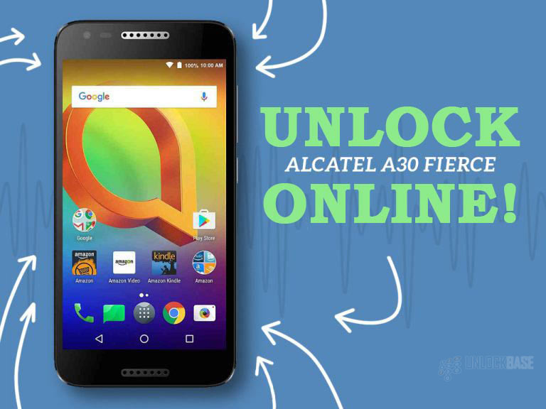 Unlocking Alcatel A30 FIERCE