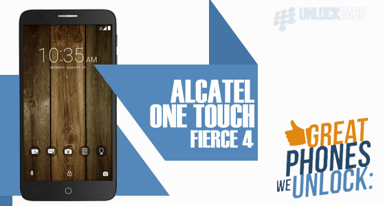 Unlocking Alcatel OneTouch Fierce 4