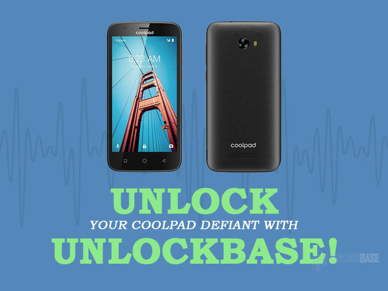 Unlocking Coolpad Defiant with UnlockBase