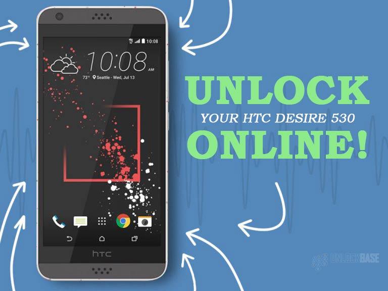 Unlocking HTC Desire 530