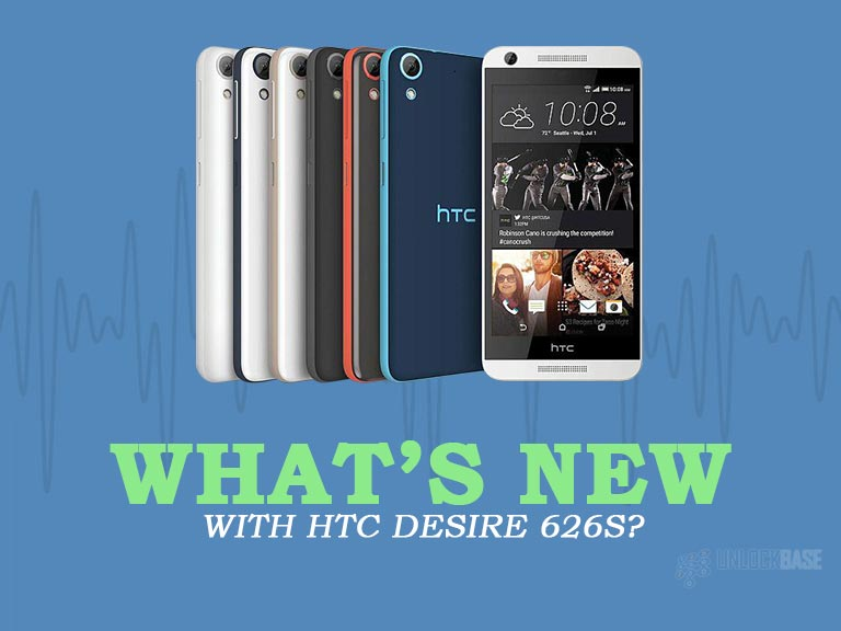 Unlocking HTC Desire 626s with UnlockBase