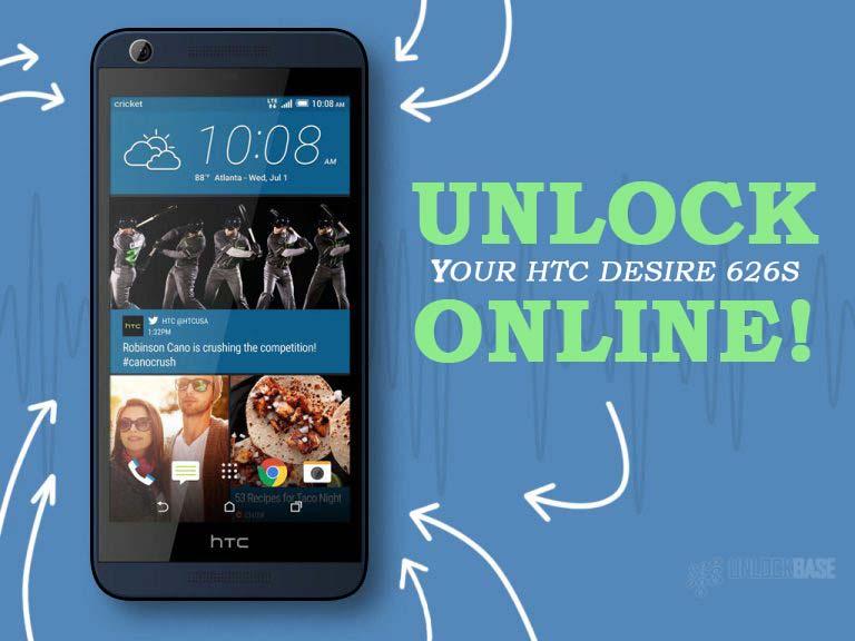 Unlocking HTC Desire 626s