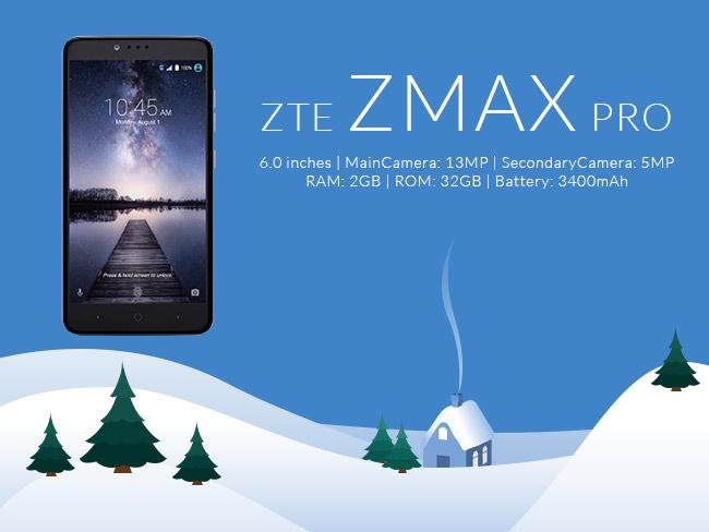 ZTE Z Max Pro