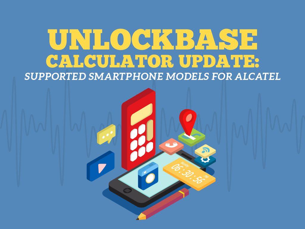 UnlockBase Calculator Update : Alcatel