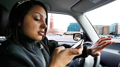 Cell Phone Addiction - Driving