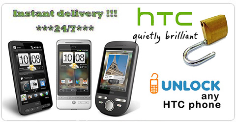 HTC Unlock Code by IMEI - HTC Unlocking