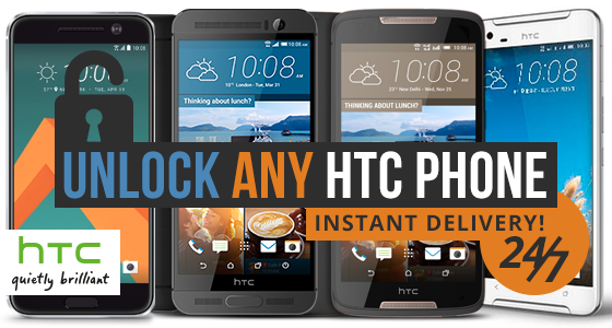 HTC Unlock Code (Instant Delivery) - Massive Update