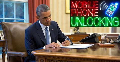 Obama Signing Bills to protect Cell Phone Unlocking