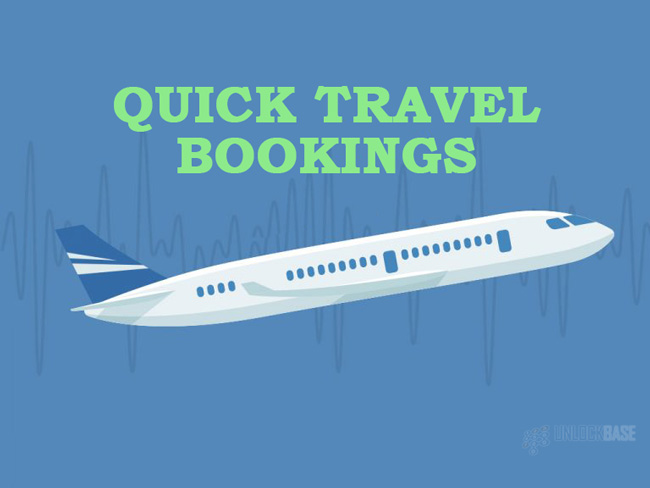 Quick Travel Booking
