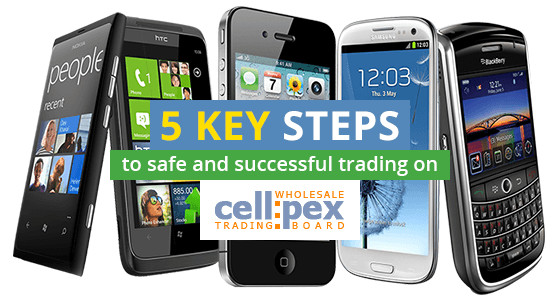 5 key steps to safe and successful trading on Cellpex