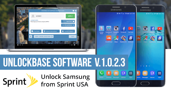Unlock Software Update for Samsung from Sprint USA