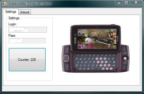 SideKick PV300 Unlock Software